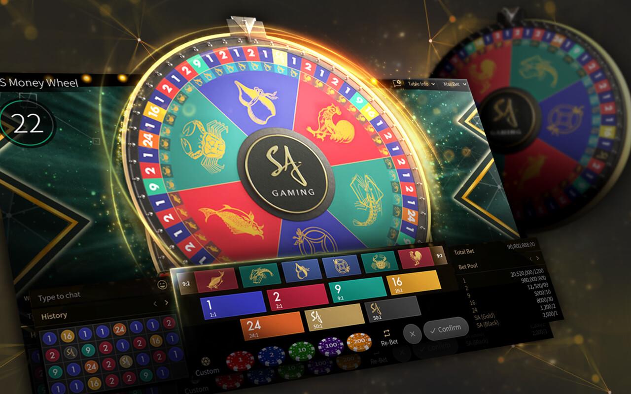 ล้อมหาโชค SA Gaming
