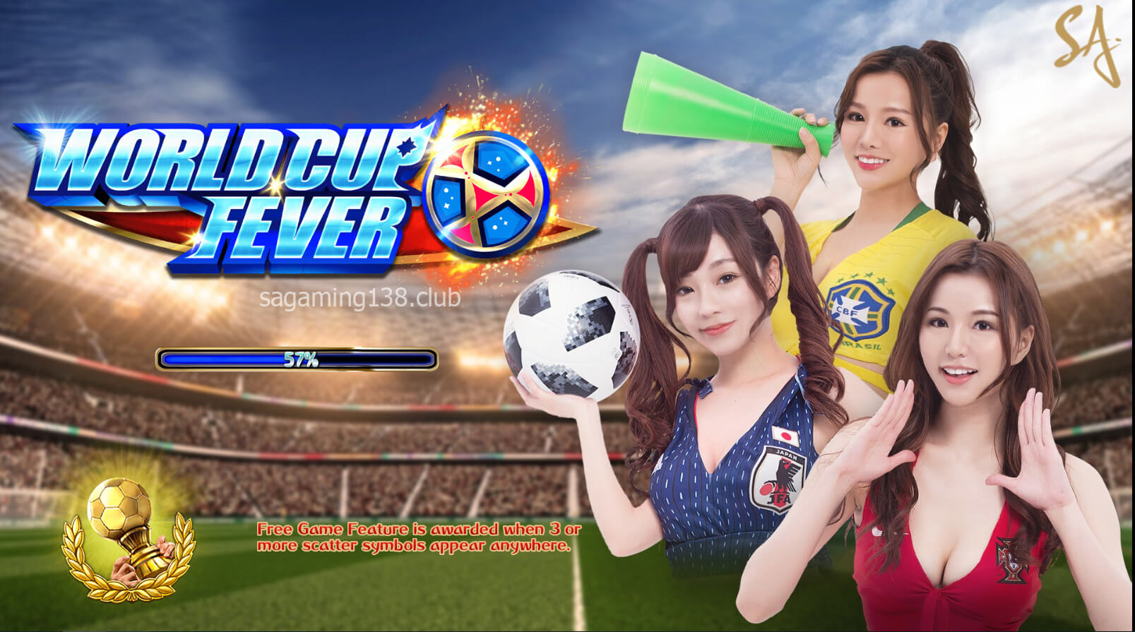 World Cup Fever เกมสล็อตออนไลน์ 9 SA Gaming คาสิโนออนไลน์ที่ดีที่สุด