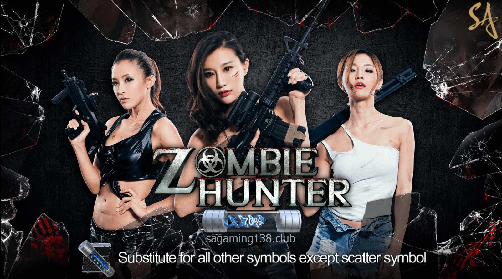 Zombie Hunter เกมสล็อตออนไลน์ 8 SA Gaming คาสิโนออนไลน์ที่ดีที่สุด