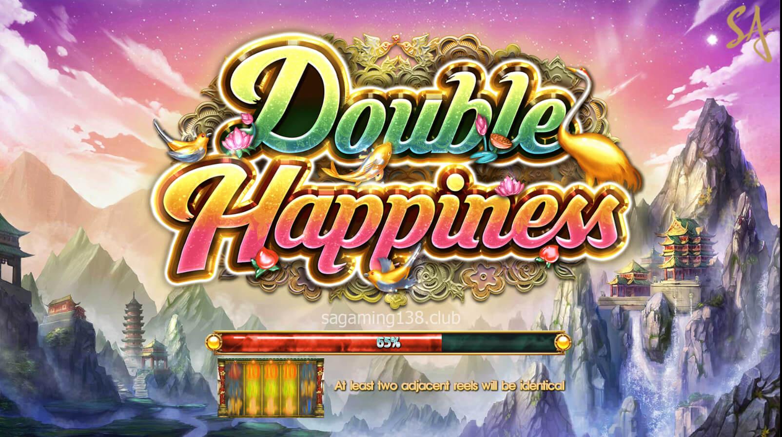 เกมสล็อตออนไลน์ Double Happiness 9 SA Gaming คาสิโนออนไลน์ที่ดีที่สุด