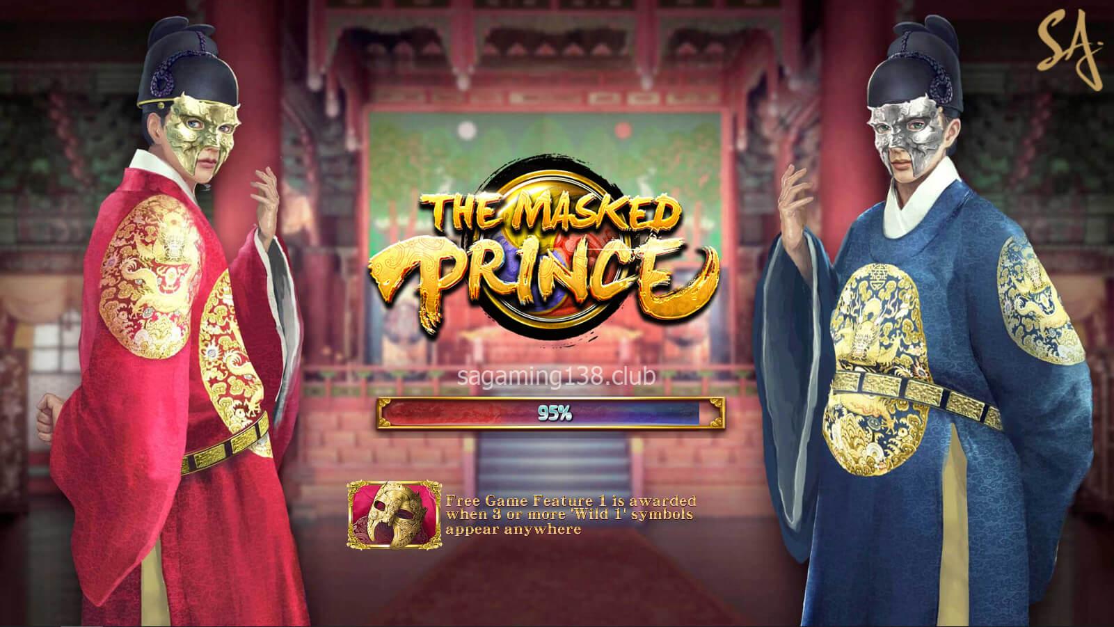 The Masked Prince เกมสล็อตออนไลน์ 5 SA Gaming คาสิโนออนไลน์ที่ดีที่สุด