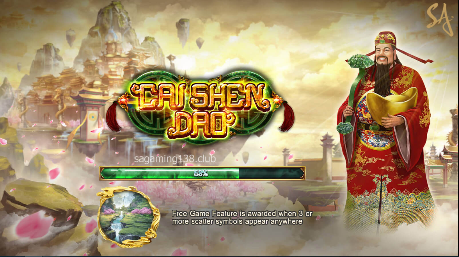 Cai Shen Dao เกมสล็อตออนไลน์ 5 SA Gaming คาสิโนออนไลน์ที่ดีที่สุด
